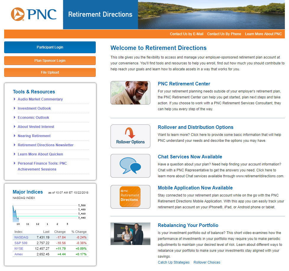 PNC website