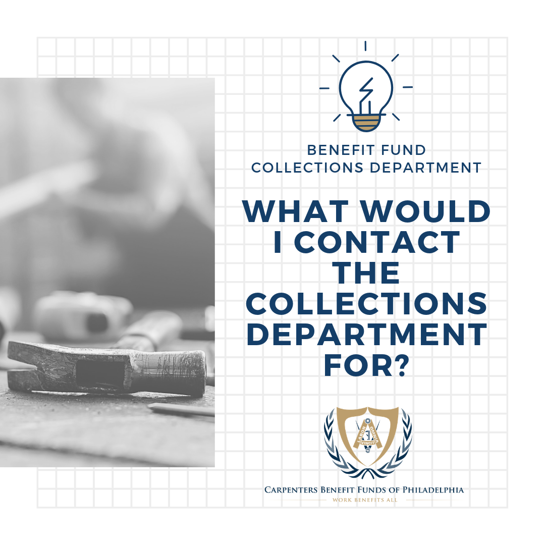 Ask the Fund's Collections Department