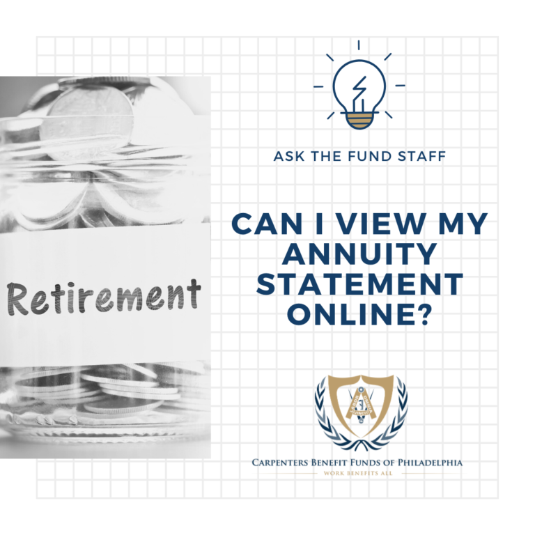 View Your Annuity Balance Online